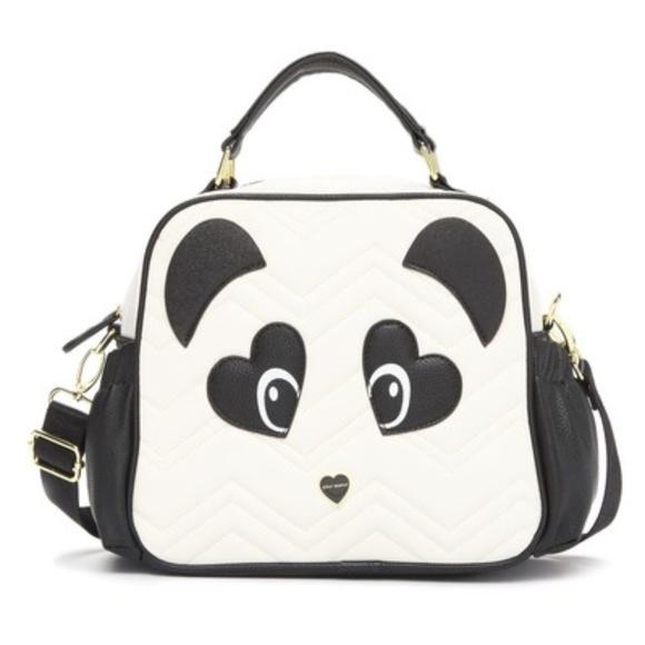 Betsey Johnson Handbags - Betsey Johnson Panda Lunch Tote